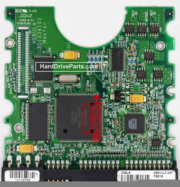 040103500 Maxtor Harde Schijf PCB Printplaat