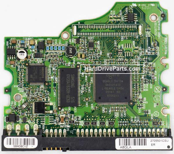 040121400 Maxtor Harde Schijf PCB Printplaat