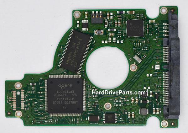 Seagate ST9160823AS Hard Disk Printplaat 100430580