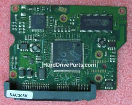 100442000 Printplaat Harde Schijf PCB Seagate STM3250310AS