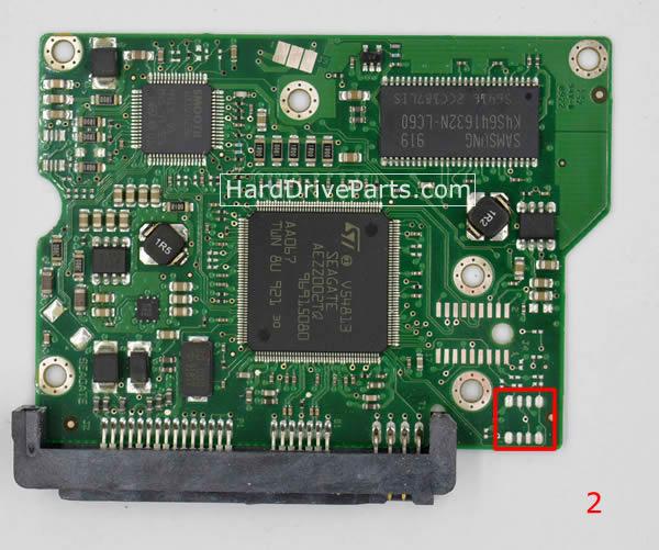 ST3250310CS Seagate Harde Schijf PCB Printplaten 100468303