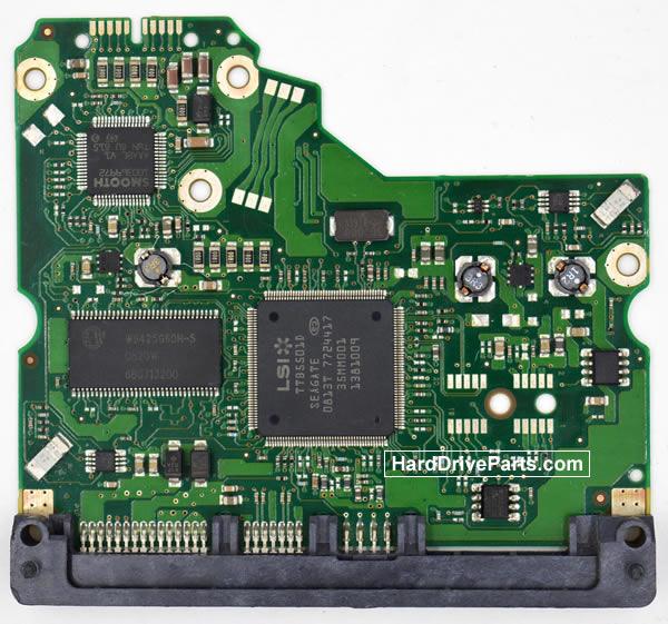 ST3250310NS Seagate Harde Schijf PCB Printplaten 100475720