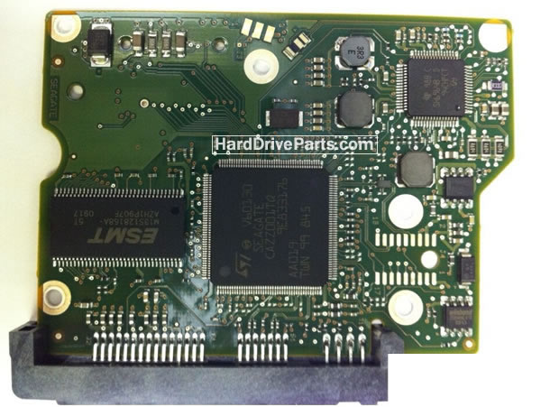 100535704 Printplaat Harde Schijf PCB Seagate ST31000524AS