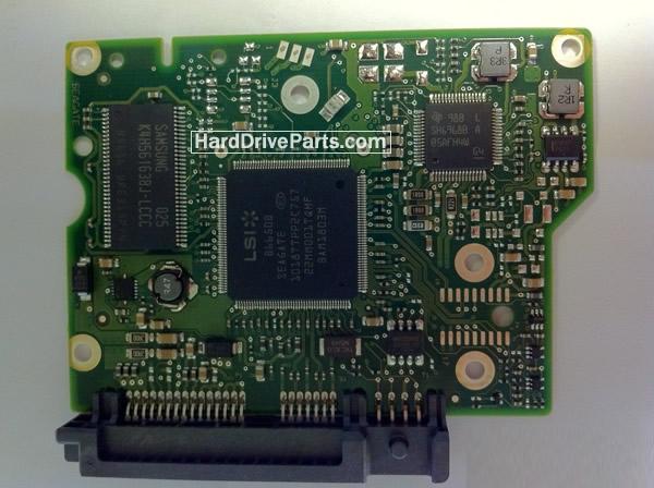 ST2000VX002 Seagate Harde Schijf PCB Printplaten 100603204