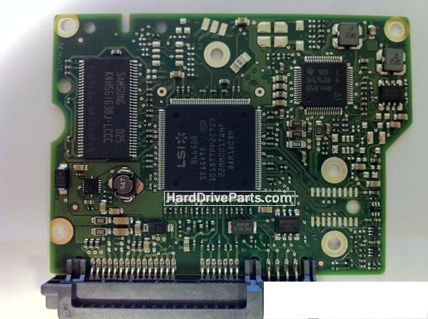 ST1000DL002 Seagate Harde Schijf PCB Printplaten 100617465