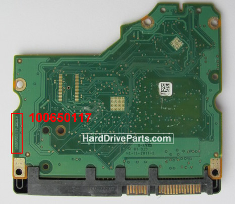 100650117 Printplaat Harde Schijf PCB Seagate ST31500541AS