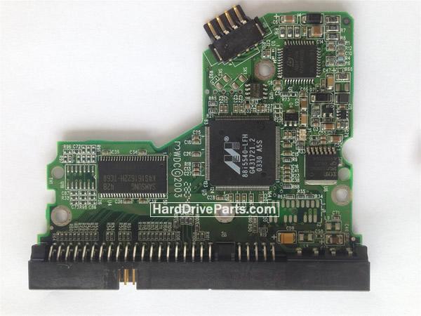 2060-001130-012 REV A / REV P1 / REV P2 WD Harde Schijf PCB Printplaat