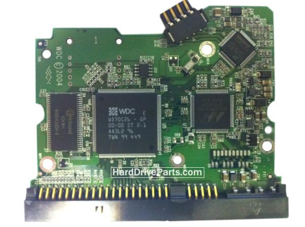 WD2500JB Western Digital Harde Schijf PCB Printplaten 2060-701265-001