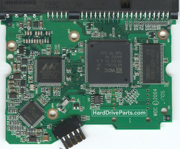 WD2000JB Western Digital Harde Schijf PCB Printplaten 2060-701266-001