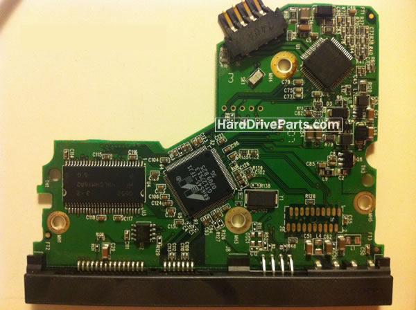 2060-701393-002 REV A / REV P1 / REV P2 WD Harde Schijf PCB Printplaat
