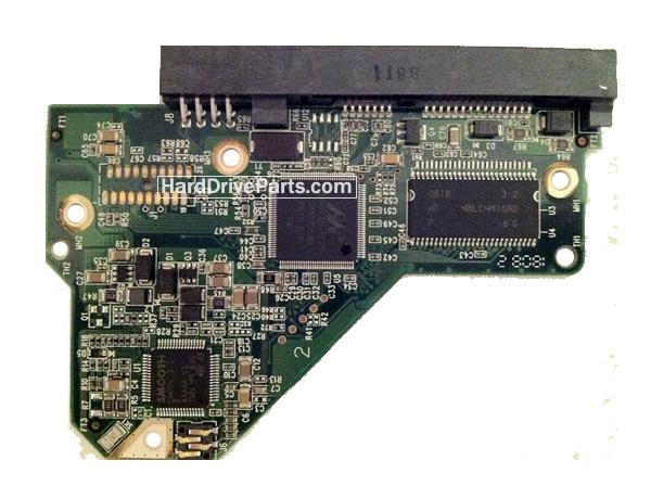 2060-701444-003 REV A / REV P1 / REV P2 WD Harde Schijf PCB Printplaat