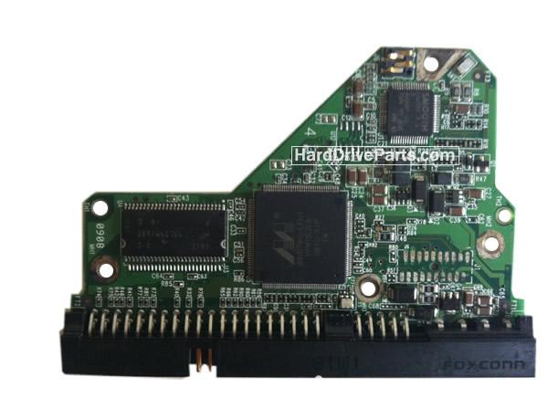 WD2500AAJB Western Digital Harde Schijf PCB Printplaten 2060-701494-001