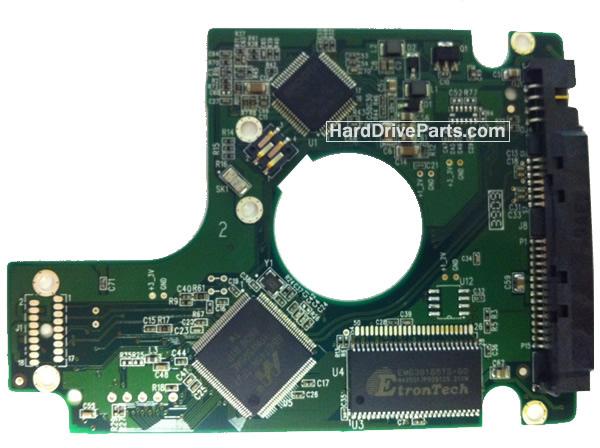 2060-701499-005 REV A / REV P1 / REV P2 WD Harde Schijf PCB Printplaat