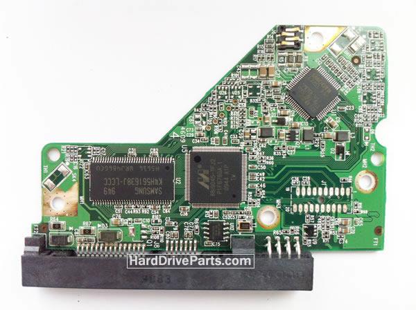 2060-701508-001 REV A / REV P1 / REV P2 WD Harde Schijf PCB Printplaat