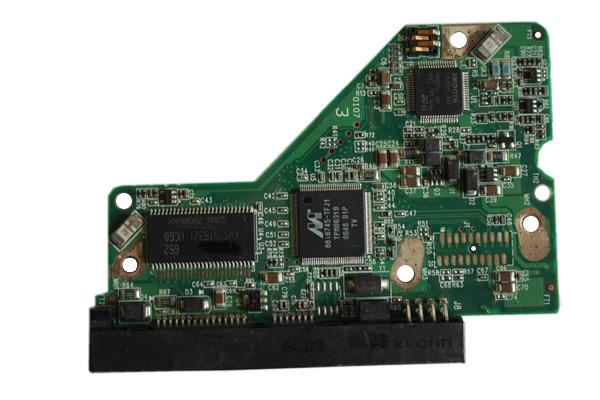 2060-701537-003 REV A / REV P1 / REV P2 WD Harde Schijf PCB Printplaat