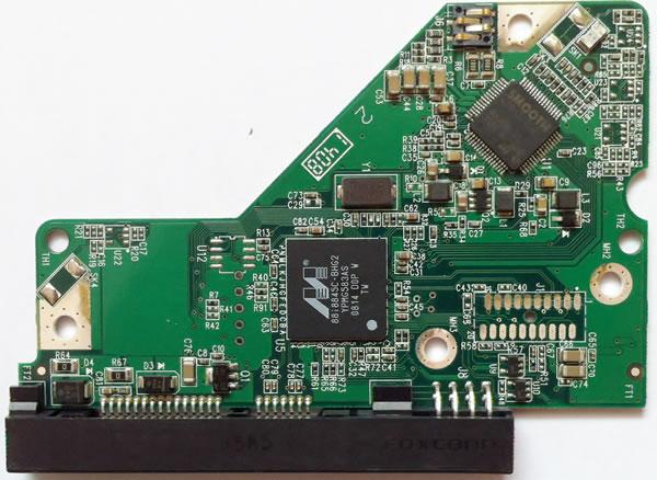 2060-701537-004 REV A / REV P1 / REV P2 WD Harde Schijf PCB Printplaat
