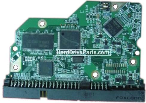 2060-701596-001 REV A / REV P1 / REV P2 WD Harde Schijf PCB Printplaat