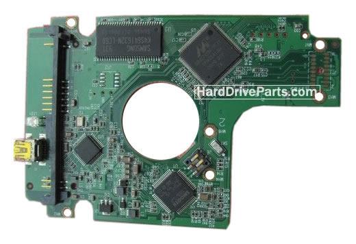 2060-701615-003 REV A / REV P1 / REV P2 WD Harde Schijf PCB Printplaat