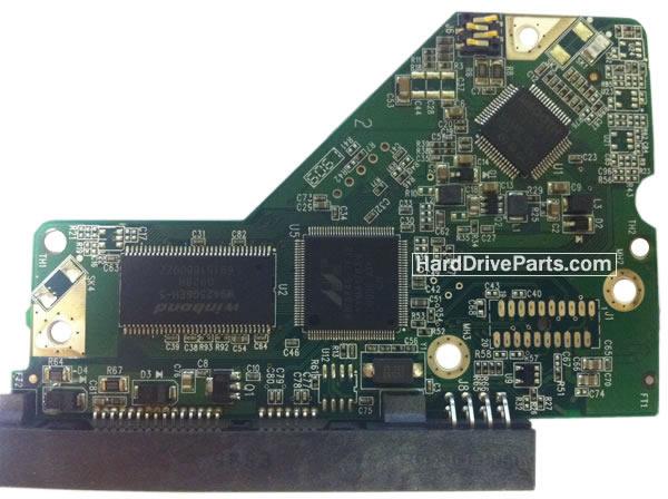 2060-701622-000 REV A / REV P1 / REV P2 WD Harde Schijf PCB Printplaat