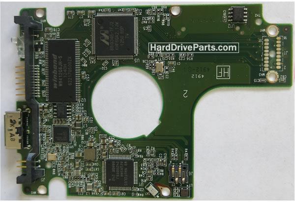 2060-771801-002 REV A / REV P1 / REV P2 WD Harde Schijf PCB Printplaat