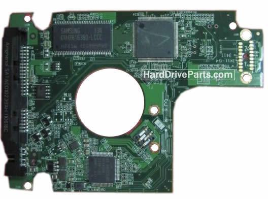 2060-771820-000 REV A / REV P1 / REV P2 WD Harde Schijf PCB Printplaat