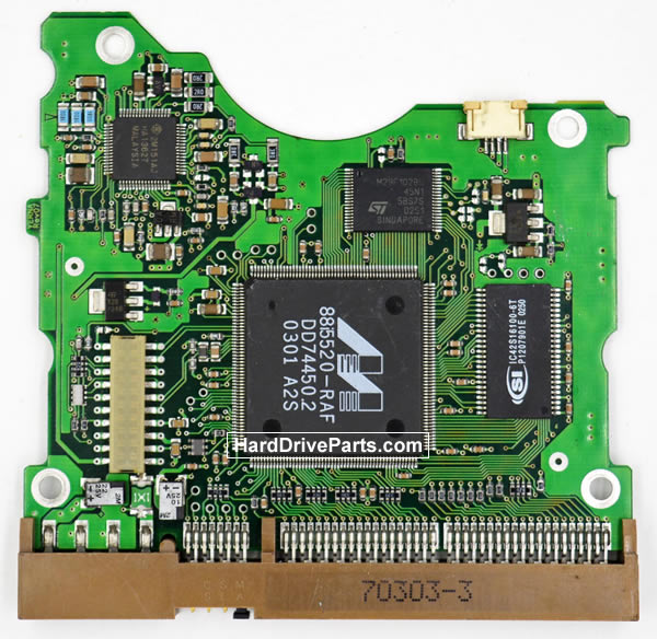 BF41-00058A Samsung Harde Schijf PCB Printplaat