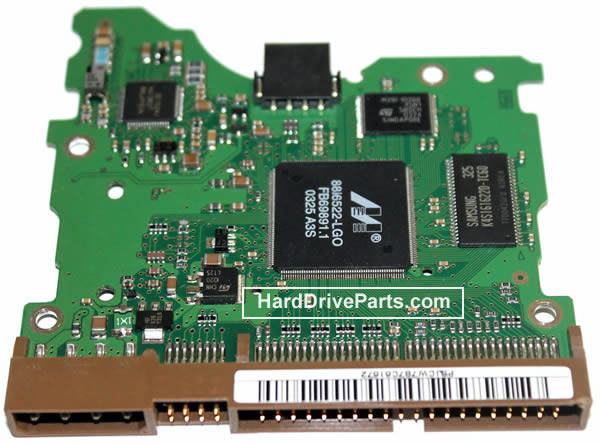 BF41-00068A Samsung Harde Schijf PCB Printplaat