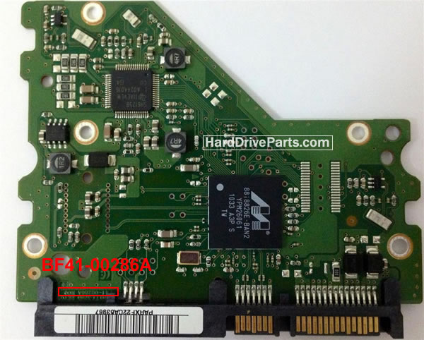 BF41-00286A Samsung Harde Schijf PCB Printplaat