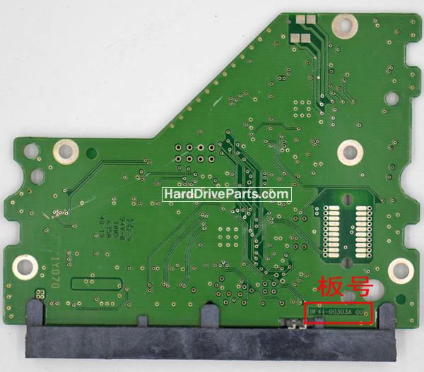 BF41-00303A Samsung Harde Schijf PCB Printplaat