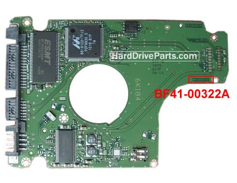 BF41-00322A Samsung Harde Schijf PCB Printplaat