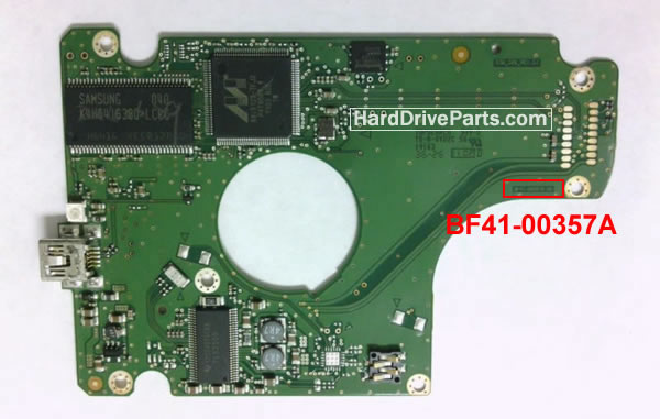 BF41-00357A Samsung Harde Schijf PCB Printplaat