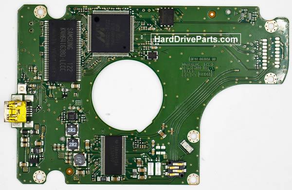 Samsung HN-M101XBB Hard Disk Printplaat BF41-00365A