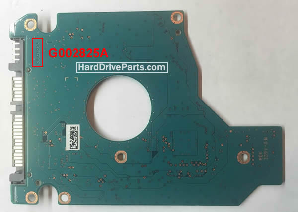 G002825A Toshiba Harde Schijf PCB Printplaat