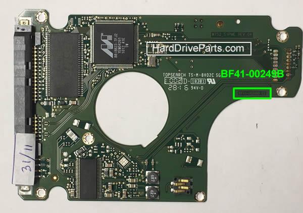 PCB Printplaat Vervangen van Harde Schijf Samsung 2.5