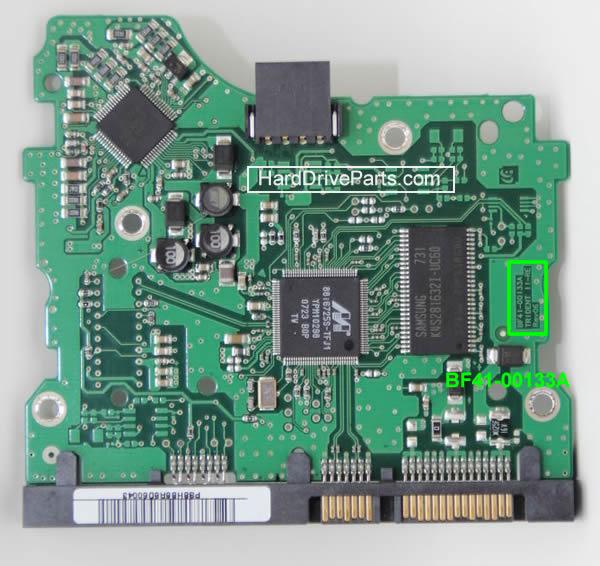 PCB Printplaat Vervangen van Harde Schijf Samsung 3.5