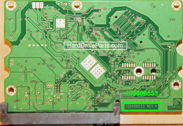 PCB Printplaat Vervangen van Harde Schijf Seagate