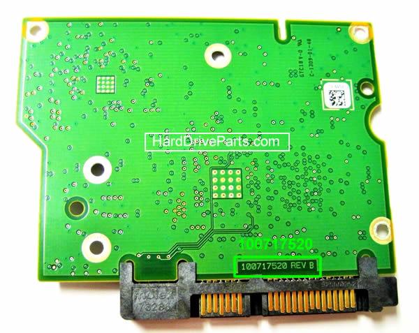 PCB Printplaat Vervangen van Harde Schijf Seagate barracuda 7200.12