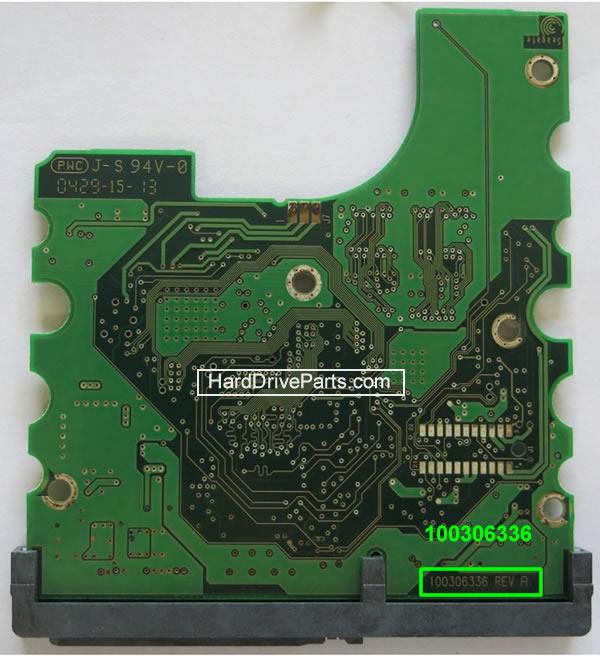 PCB Printplaat Vervangen van Harde Schijf Seagate barracuda 7200.7