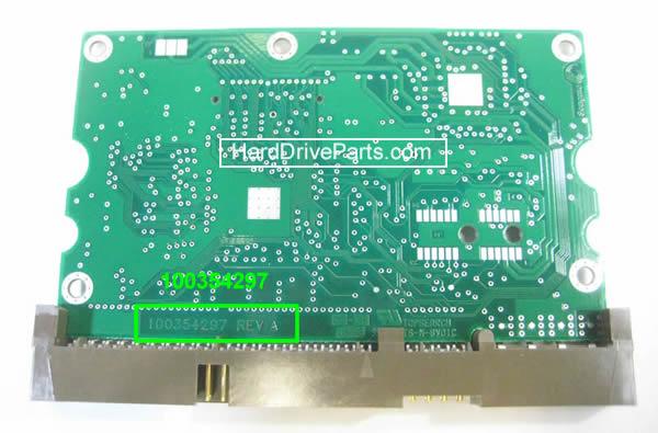 PCB Printplaat Vervangen van Harde Schijf Seagate barracuda 7200.8