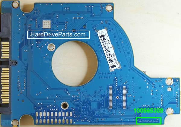 PCB Printplaat Vervangen van Harde Schijf Seagate 2.5